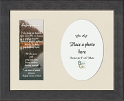 Safely Home Sympathy Poem Photo Frame (7X9) Gift for Memorial, Encouragement and Comfort in the Time of Bereavement