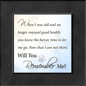Pet Memorial, Best Friend, Frame (3.5X3.5) Gift for Remembrance, Encouragement and Comfort