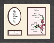 Stairway To Heaven Sympathy Poem Photo Frame (8X10) Scripture Gift for Memorial, Encouragement and Comfort in the Time of Bereavement