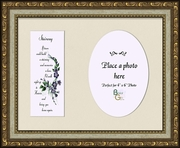 Stairway To Heaven Sympathy Poem Photo Frame (7X9) Gift for Memorial, Encouragement and Comfort in the Time of Bereavement