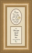 Mother Memorial Words Photo Frame (3.5X7) Gift for Condolence, Encouragement and Comfort in the Time of Bereavement