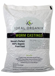 WORM CASTINGS by Ideal Organix - 10 lb