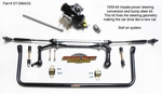 1959 -1964 Impala and Biscayne Power Steering Conversion & Bump Steer  Kit Part # ST-5964GS