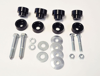 Body Mount Bushing Kit with Global West Subframe Connectors-  part # 809