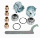 Mustang 8.8 rear end upper bushing replacement kit with spherical bearings Part# SP-56 sold as a pair