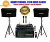 "SINGTRONIC COMPLETE 1000 WATTS PROFESSIONAL KARAOKE SYSTEM SPECIALS <b><i><font color=""#FF0000"">3TB HARD DRIVE FREE 30,000 SONGS</font></i></b> SPECIAL WIFI FUNCTION & HDMI OUTPUT"