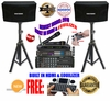 """SINGTRONIC COMPLETE 1000W KARAOKE SYSTEM PACKAGE SPECIAL WITH 45,000 SONGS <font color=""""#FF0000""""><b><i>NEWEST MODEL: 2016 WITH HDMI & WIFI & EQUILIZER</i></b></font>"""