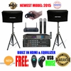 "SINGTRONIC COMPLETE 1000W KARAOKE SYSTEM PACKAGE SPECIALS WITH 40,000 SONGS KARAOKE <i><b><font color=""#FF0000"">NEWEST MODEL: 2015 BUILT WITH WIFI & EQUILIZER</font></b></i>"