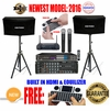"""SINGTRONIC COMPLETE 1000W KARAOKE SYSTEM PACKAGE SPECIALS WITH 40,000 SONGS KARAOKE <i><b><font color=""""#FF0000"""">NEWEST MODEL: 2016 BUILT WITH WIFI & EQUILIZER</font></b></i>"""