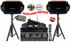 "SINGTRONIC PROFESSIONAL COMPLETE KARAOKE SYSTEM PACKAGE SPECIALS WITH FREE: 30,000 SONGS <font color=""#FF0000""><b><i>NEWEST MODEL: 2014 DSP PROCESSOR & HDMI WIFI FUNCTION</i></b></font>"