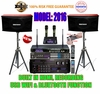 """SINGTRONIC PROFESSIONAL COMPLETE 2000 WATTS KARAOKE SYSTEM <font color=""""#FF0000""""><b><i>MODEL: 2016 LOADED OVER 50,000 SONGS</i></b></font> WIFI & HDMI & RECORDING FUNCTION"""