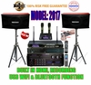 "SINGTRONIC PROFESSIONAL COMPLETE 2000 WATTS KARAOKE SYSTEM <font color=""#FF0000""><b><i>MODEL: 2017 LOADED OVER 50,000 SONGS</i></b></font> WIFI & HDMI & RECORDING FUNCTION"