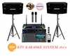 "SINGTRONIC PROFESSIONAL COMPLETE KTV KARAOKE SYSTEM <font color=""#FF0000""><b><i>MODEL: 2014 LOADED OVER 35,000 VOCALS SONGS</i></b></font> WIFI & HDMI OUTPUT"