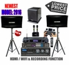 """SINGTRONIC PROFESSIONAL COMPLETE 2000 WATTS KARAOKE SYSTEM <font color=""""#FF0000""""><b><i>MODEL: 2016 LOADED OVER 50,000 SONGS</i></b></font> WIFI & RECORDING FUNCTION FREE: POWER SUBWOOFER"""