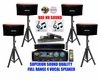 "SINGTRONIC PROFESSIONAL COMPLETE FULL RANGE 4 SPEAKER 3000 WATTS KARAOKE SYSTEM <font color=""#FF0000""><b><i>NEWEST MODEL: 2013 DSP FULL RANGE SYSTEM</i></b></font> WITH FREE: 50,000 SONGS"