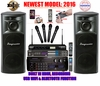 """SINGTRONIC PROFESSIONAL COMPLETE 3000 WATTS KARAOKE SYSTEM <font color=""""#FF0000""""><b><i>NEWEST MODEL: 2016 Built In Wifi W/ USB Recording Function</i></b></font> FREE: 50,000 SONGS & 4K HDMI OUTPUT"""