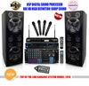 "SINGTRONIC PROFESSIONAL COMPLETE 3000 WATTS KARAOKE SYSTEM <font color=""#FF0000""><b><i>NEWEST MODEL: 2014 SUPER TWEETERS & MONSTER BASS Built in Wifi & Android System</i></b></font> FREE: 35,000 SONGS & HDMI OUTPUT"