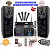 "SINGTRONIC PROFESSIONAL COMPLETE 3000 WATTS KARAOKE SYSTEM <font color=""#FF0000""><b><i>NEWEST MODEL: 2015 SUPER TWEETERS & MONSTER BASS Built in Wifi & Android System</i></b></font> FREE: 50,000 SONGS & HDMI OUTPUT"