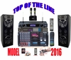 """SINGTRONIC PROFESSIONAL COMPLETE 3000 WATTS KARAOKE SYSTEM <font color=""""#FF0000""""><b><i>TOP OF THE LINE MODEL: 2016 SUPER TWEETERS & MONSTER BASS W/ 3.5"""" LCD Screen & Recording Function</i></b></font> FREE: 50,000 SONGS & HDMI OUTPUT"""