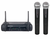 "SINGTRONIC UHF-350 PROFESSIONAL DUAL VHF WIRELESS MICROPHONE SYSTEM <font color=""#FF0000""><b><i>NEWEST MODEL: 2014 SUPER SALE</i></b></font>"
