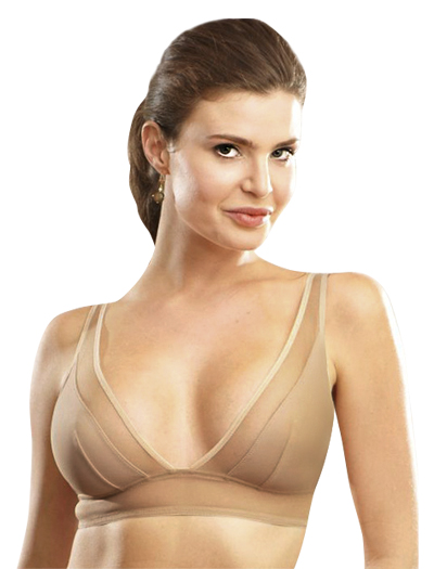 Addiction Nouvelle Triangular Bra AD13-01 - Nude