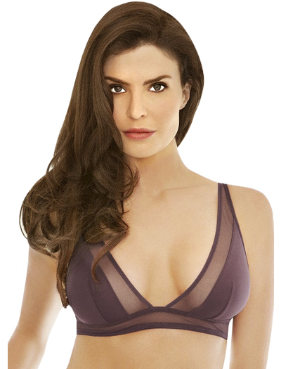 Addiction Nouvelle Triangular Bra AD13-01 - Purple