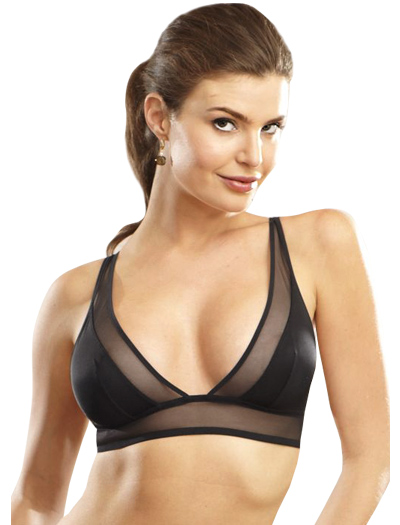 Addiction Nouvelle Triangular Bra AD13-01 - Black