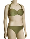 Aerin Rose Convertible Underwire Bandeau Bikini Top 103 - Gilded