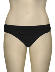 Aerin Rose Fold Over Scoop Brief 74810 - Black