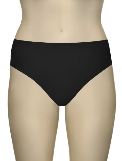 Aerin Rose High Waist Bikini Bottom 444 - Black