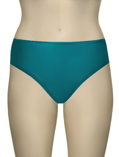 Aerin Rose High Waist Bikini Bottom 444 - Omb Emerald