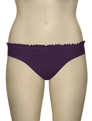Aerin Rose Ruffle Scoop Brief 74910 - Violet
