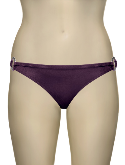 Aerin Rose Scoop Brief With Hammered Ring 84511 - Violet