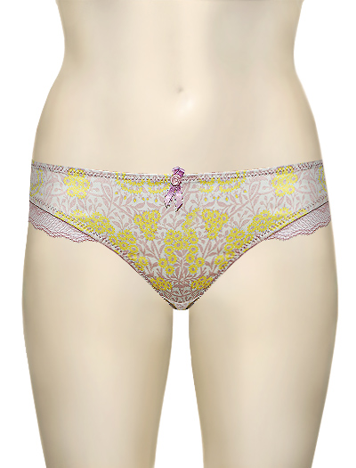 Affinitas Intimates Zoe Bikini 6143 - Lemon / Rose