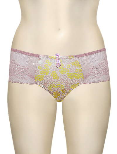 Affinitas Intimates Zoe Hipster 615 - Lemon / Rose
