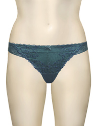 Affinitas Intimates Molly Thong A1144 - Teal