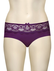 Affinitas Intimates Parfait Carole Hipster Shorty 3105 - Imperial Purple