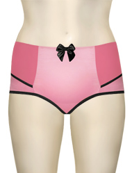 Parfait Charlotte High Waist Brief 6917 - Pink / Black