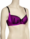 Affinitas Intimates Parfait Charlotte Padded Bra 6901 - Purple / Black