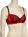 Affinitas Intimates Parfait Charlotte Padded Bra 6901 - Red / Black