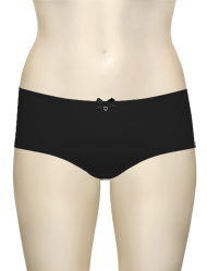 Affinitas Intimates Parfait Jeanie Hipster Shorty 4805 - Black