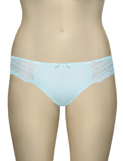 Affinitas Intimates Parfait Kelly Thong 6704 - Baby Blue