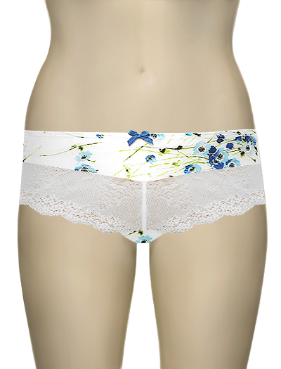 Affinitas Intimates Parfait Louisa Hipster Shorty 4205 - Poppy Blue