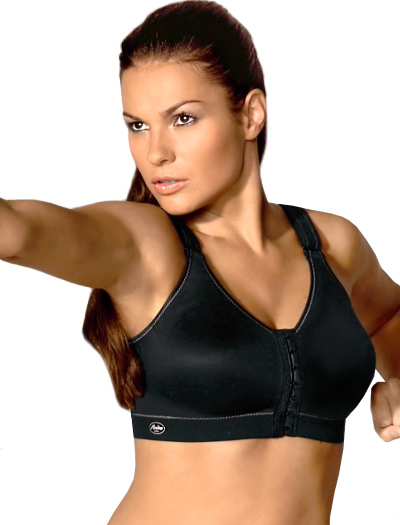 Anita Active Frontline Open Sports Bra 5523 - Black
