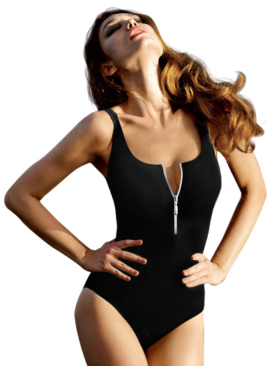 Anita Black Basics Elouise One Piece Swimsuit 7742 - Black