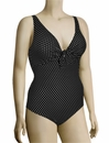Anita Black Pearl Lilith One Piece Swimsuit 7778 - Black