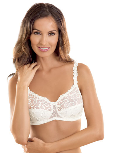 Anita Care Vanella Embroidered Mastectomy Bra 5760X - Crystal