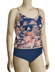 Anita Caribbean Moment Salma Tankini Set 8828 - Sea Blue