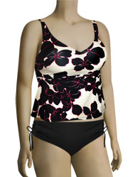 Anita Exotic Black Noemi Tankini Top 8805-1 - Original