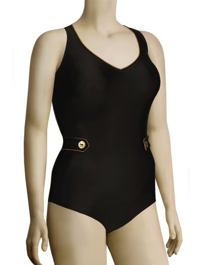 Anita Hannelore II One Piece Bathing Suit 7293 - Brown